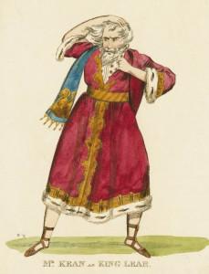 Edmund Kean as King Lear